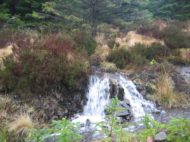 Waterfall in Glen Brittle Forest