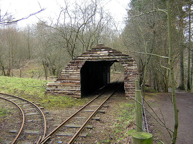 Shed over Miniature Railway