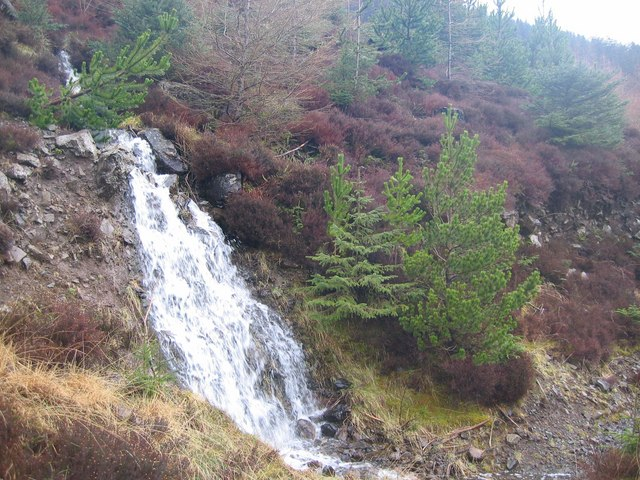 Waterfall in Glen Brittle