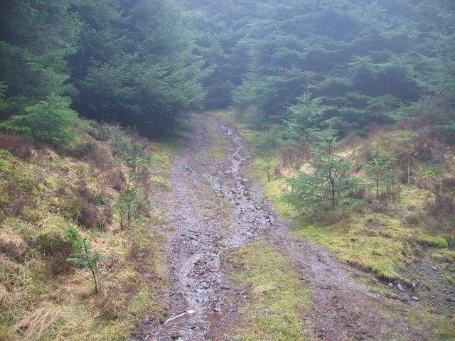 Track on Bealach Brittle