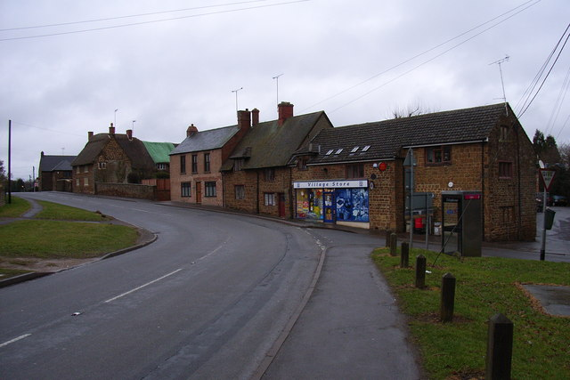 Village stores and cottages, Byfield