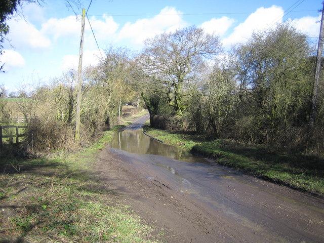 Flamstead: Delmerend Lane