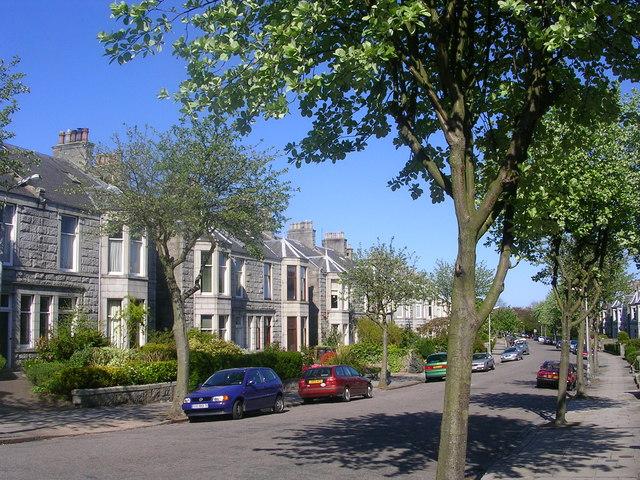 Hamilton Place, Aberdeen