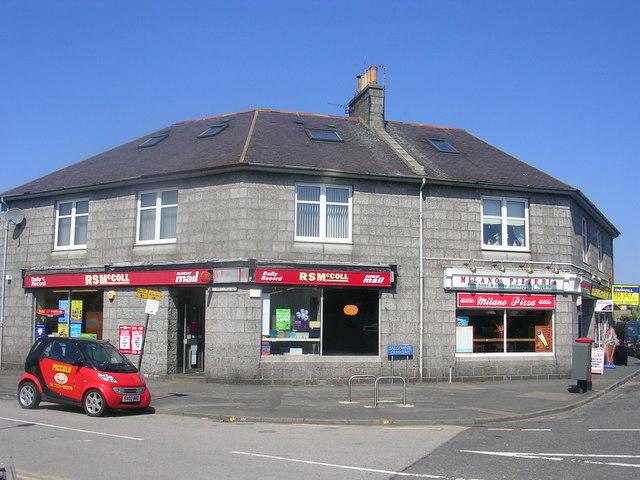 Shops at the Bridge of Don