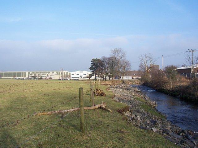 Industrial estate north of Mintsfeet.