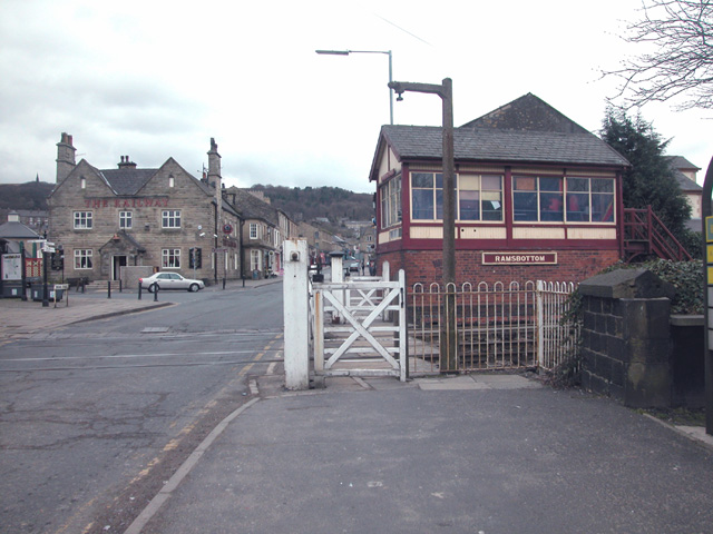 Level Crossing and Signal Box