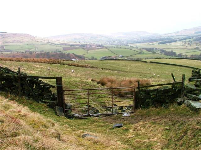Public Footpath to High CrookLeith Farm