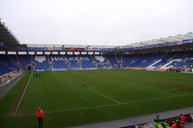 The Walkers Stadium, Leicester