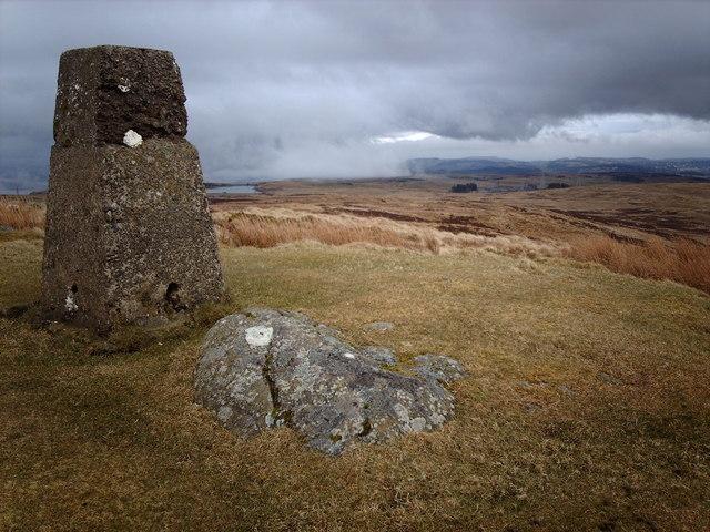 Corlick Hill Triangulation Pillar