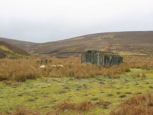 Asbestos hut, Dye Water.