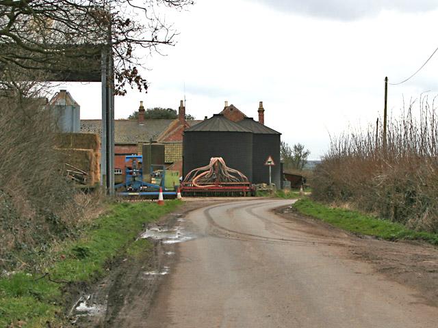 The Elms Farm, Rosminian Way near Ratcliffe College