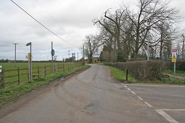 Rosminian Way near Ratcliffe