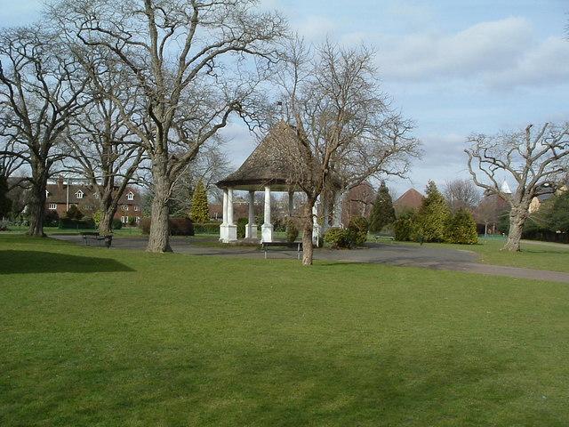 Bandstand in Bancroft Park