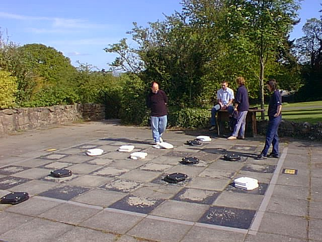 Outdoor games at Quinta Retreat Centre