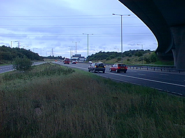 Car Broken Down, M60, J15