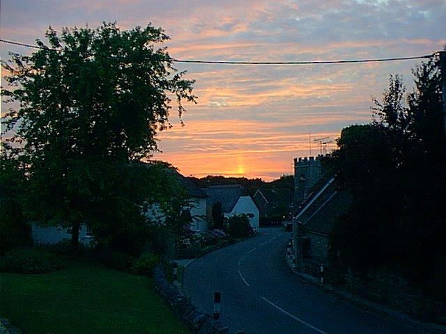 Summer Sunset Over West Stafford