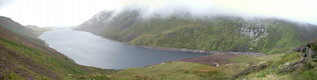 Llyn Cowlyd Reservoir