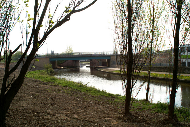 The new bridge at Westwood on the Leigh Branch of the Leeds & Liverpool Canal