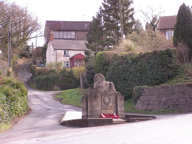 War Memorial, Longhope