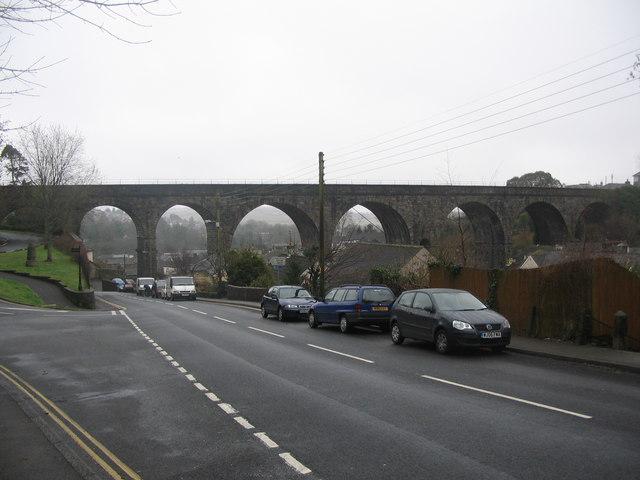 The viaduct at Tavistock