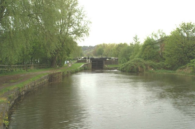 Twentieth Lock on the Wigan Flight