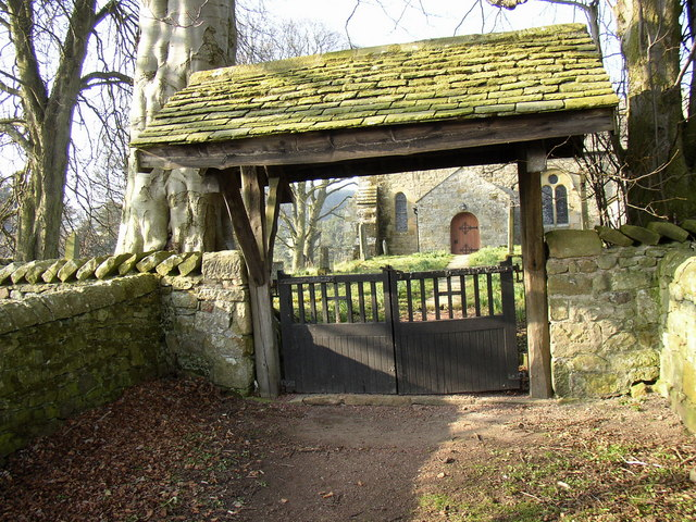 Lytchgate at Alnham Church