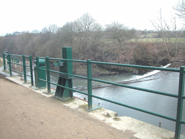 Weir and Sluice