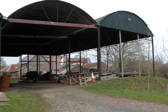 Barns at Hill End, Weston Beggard
