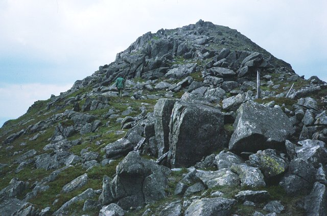 South ridge, Arenig Fawr