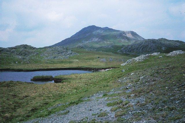 Southern ridge, Arenig Fawr.