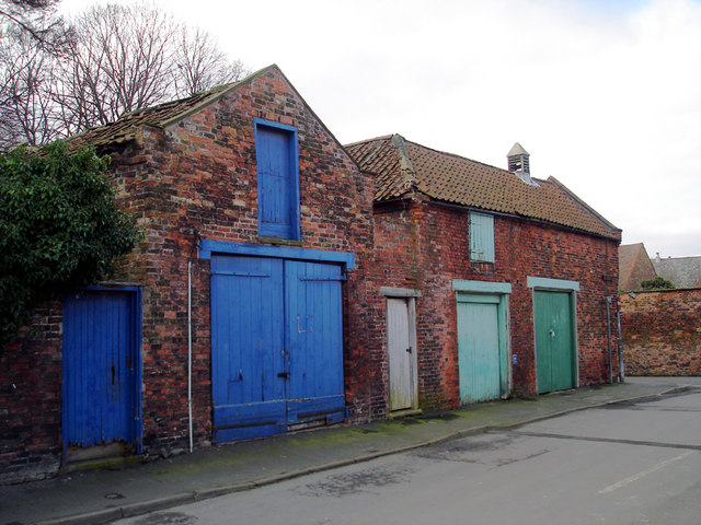 Old Coach Houses in Soutergate