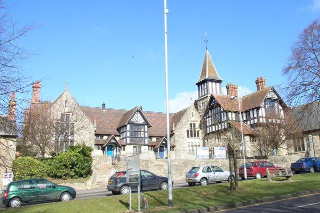 The former Feed My Lambs School, Brackley