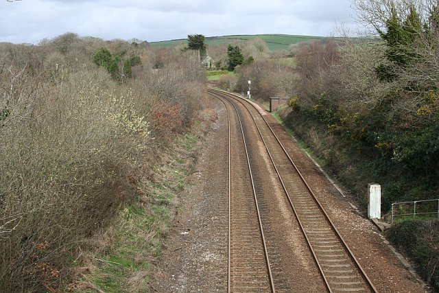 The Cornish Mainline near Treesmill