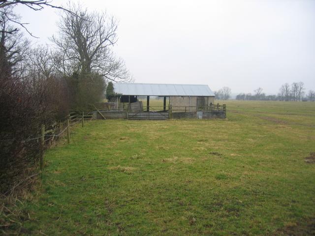 Farm buildings at Lower Boddington