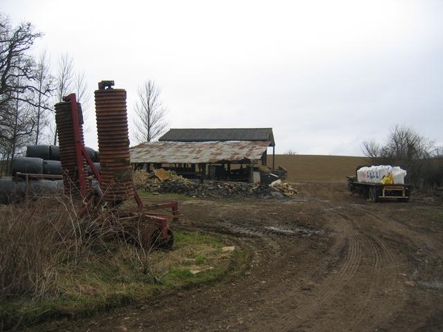 Farm yard by The Slade
