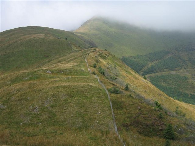 The Spur leading south off the Nantlle Ridge