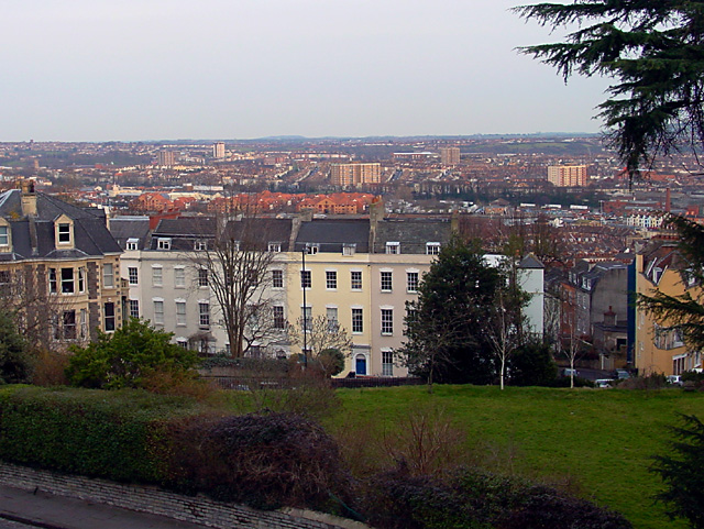 View from the end of Royal York Crescent