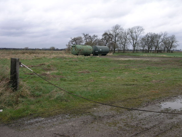 Water Tankers in a Field