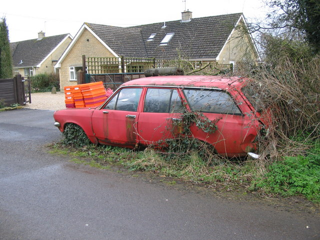 Neglected vehicle