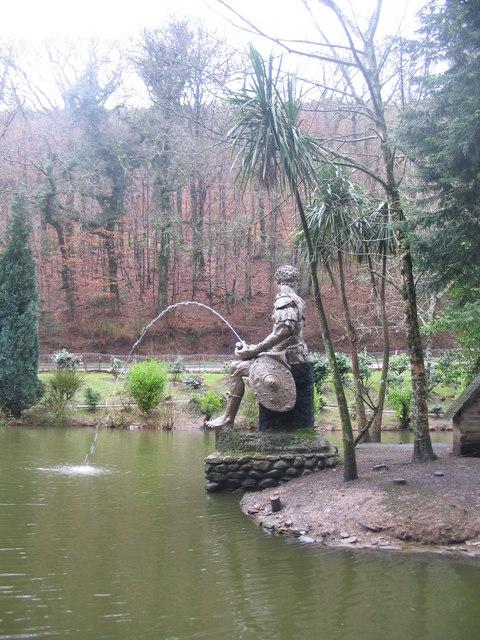 Sculpture at Trago Mills
