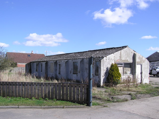 RAF Building : Cockleberry Saw Mill.