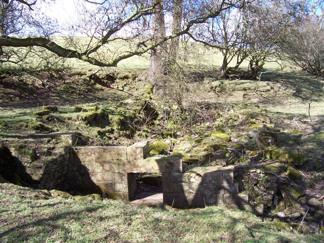 Ruin near the river.