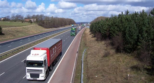 M6 From junction 41.