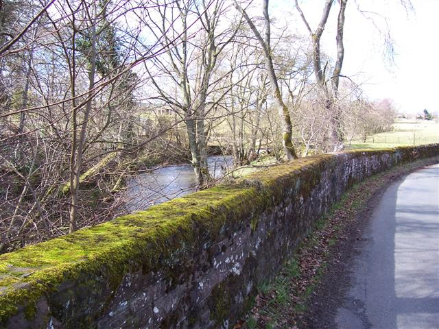Beck and Bridge at Townend.