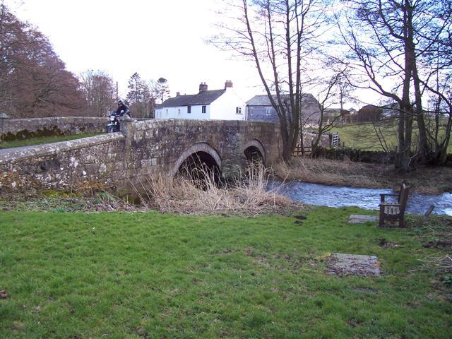 River bridge at Great Blencow.