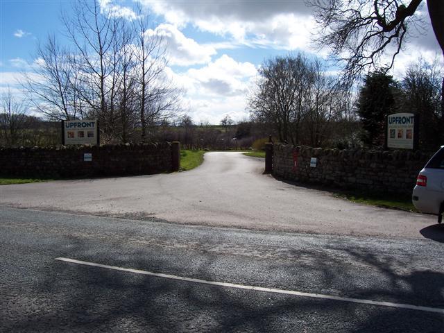 Entrance to Upfront.