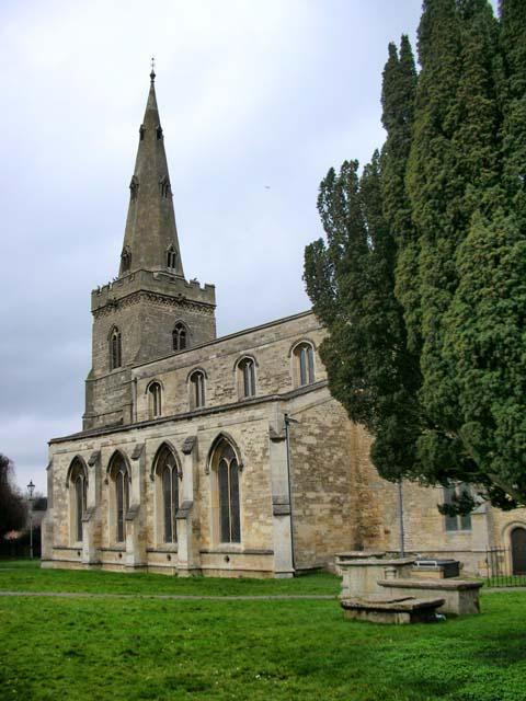 Church of St James, Thrapston