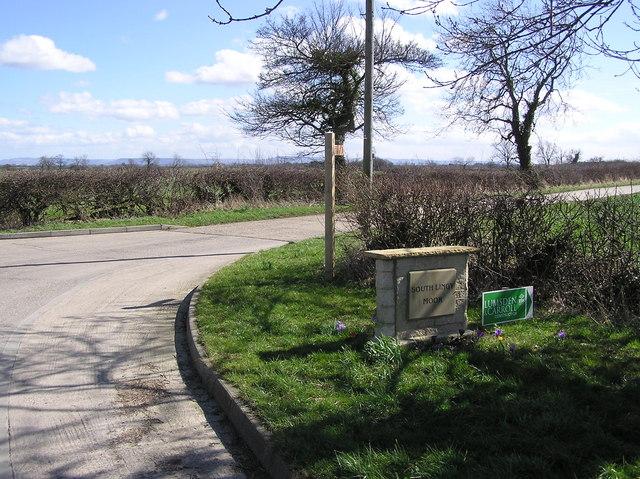 South Lingy Moor Farm : Entrance.