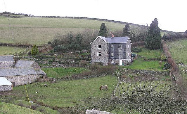 South West Coast Path; Silcombe Farm