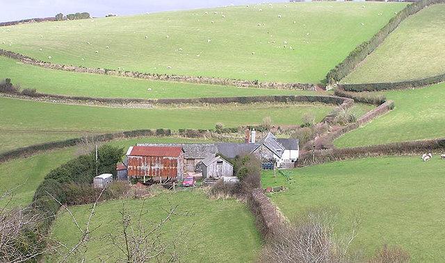 Ash Farm, near Porlock Weir